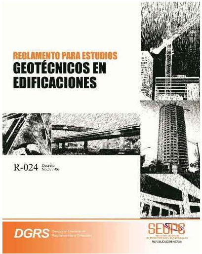 Reglamentos para Estudios Geoténicos en Edificaciones