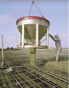 Mezclado, colocación y manipulación del hormigón fresco