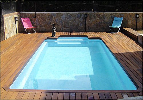 Construcci n de piscinas en poli ster precios y mas for Precios de piscinas