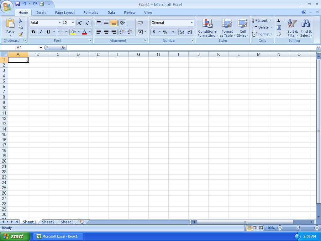 Descargar: Curso Básico Manejo de Microsoft Excel 2007