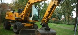 Excavadoras grandes y potentes